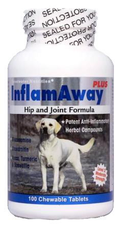 Glucosamine Chondroitin and MSM for dogs InflamAway Plus